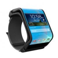 グニャっと曲げて腕時計のように装着できるスマホ「LIMBO」のコンセプト画像