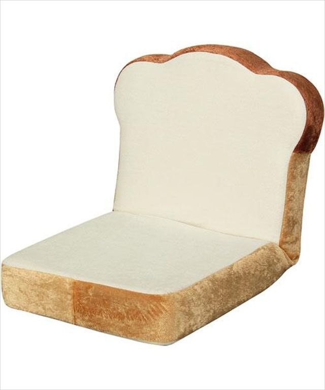 ニトリで売っているニトリっぽくない「食パン型の座椅子」がなんかいい感じだぞ!