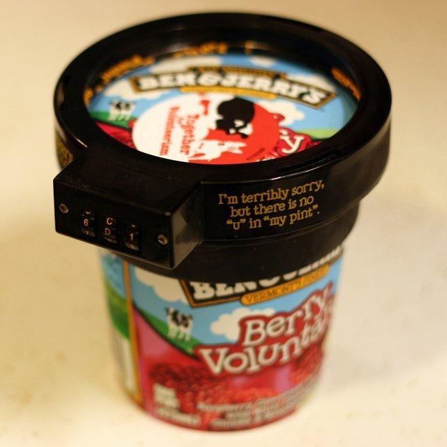 凶悪犯罪「楽しみに取っておいたアイスの盗み食い」を防ぐグッズ