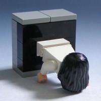【小ネタ】全然怖くない、むしろ可愛い「LEGOで作った貞子」がTwitterで話題