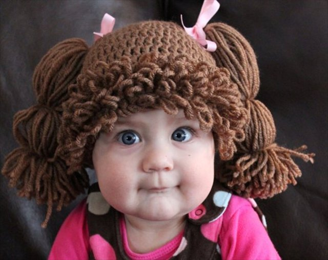 癌で髪を失った子供為に作られたキャベツ畑人形みたいになれる赤ちゃん用ニット帽が話題