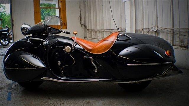 うおー!何だこのバイク!かっこいい!「1930's Art Deco Henderson Motorcycle」