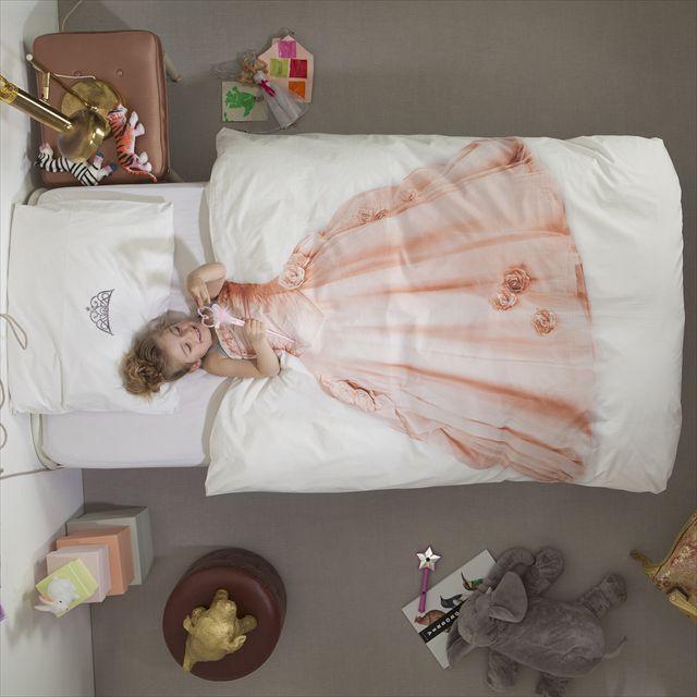 ベッドに入るだけで誰でもお姫様や宇宙飛行士になれる布団カバー