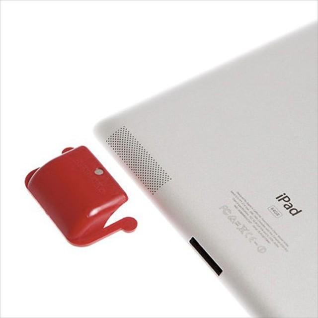 これは何気に便利かも、iPadの音を増幅する電源不要のアンプ「SoundBender®」