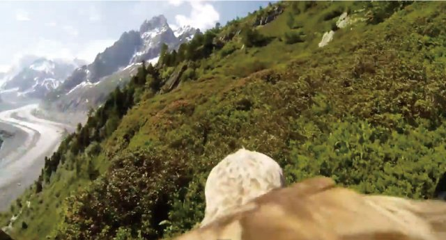 【動画】鷲にカメラを装着して空から撮影した映像が凄い!