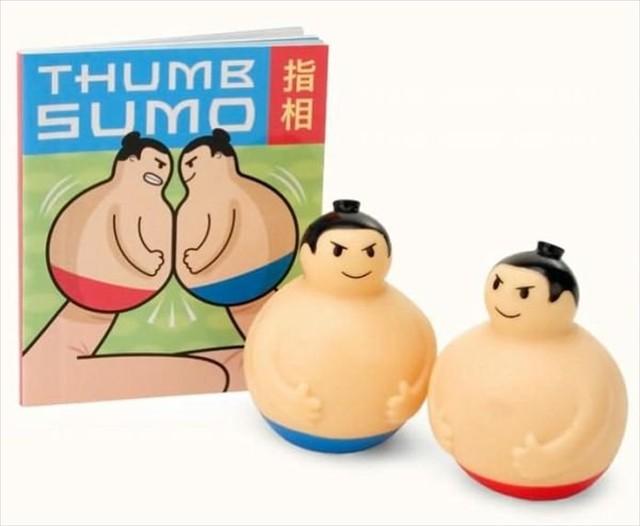 これが本当の指相撲だ!本格的に指相撲ができる指人形「Thumb Sumo」