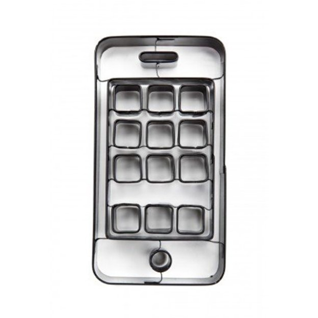 iPhone型のクッキーが作れる型「iCookie Cutter」