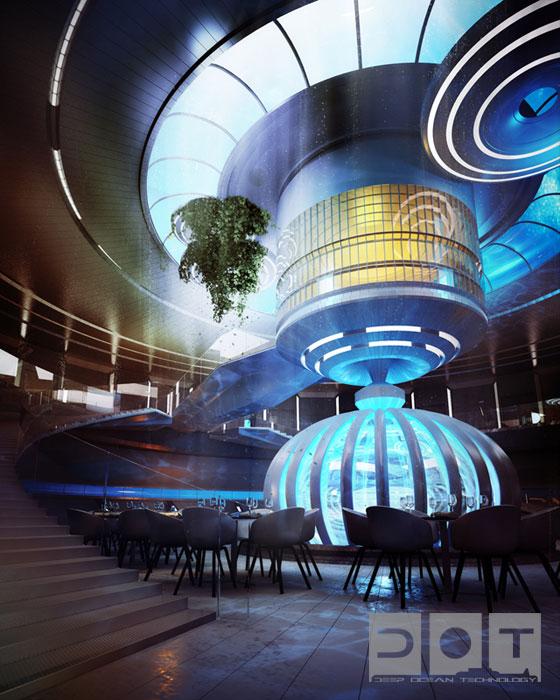 海底にホテルを建設するプロジェクト「UNDER WATER HOTEL PROJECT」が凄い!