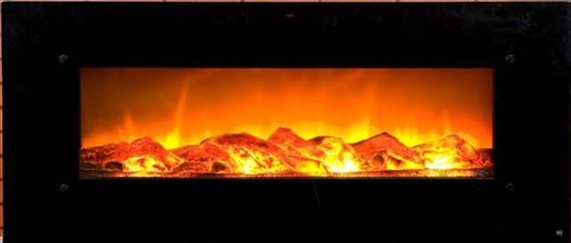 これ凄い!壁に飾れる電子暖炉「Electric Wall Mounted Fireplace」
