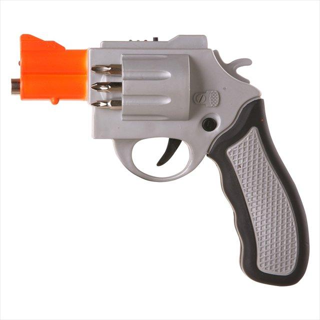 思わず構えたくなるリボルバー型の電動ドリル「Revolver Shaped Screwdriver」