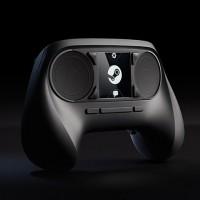 ボタンもジョイスティックもないツルッとしたコントローラー「Steam Controller」