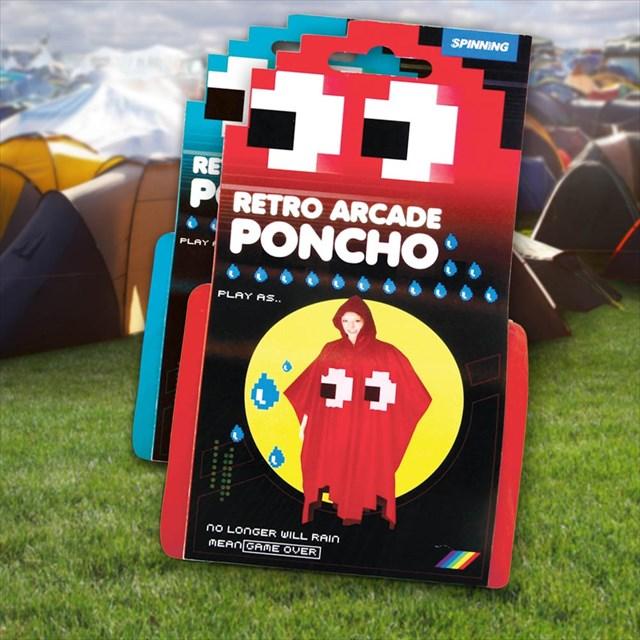 パックマンに出てくる敵キャラになれるポンチョ「Retro Arcade Poncho」