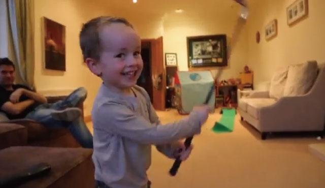 【動画】ポスト・ロリー・マキロイ!?3歳の天才ゴルファー現る!