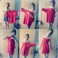 コレは素敵!「大きめのTシャツをアレンジしてドレスにする方法」が話題