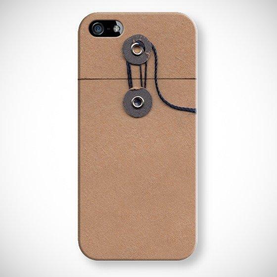 これはカワイイ!レトロな玉ひも付き封筒みたいなiPhoneケース(iPad用もあるよ)