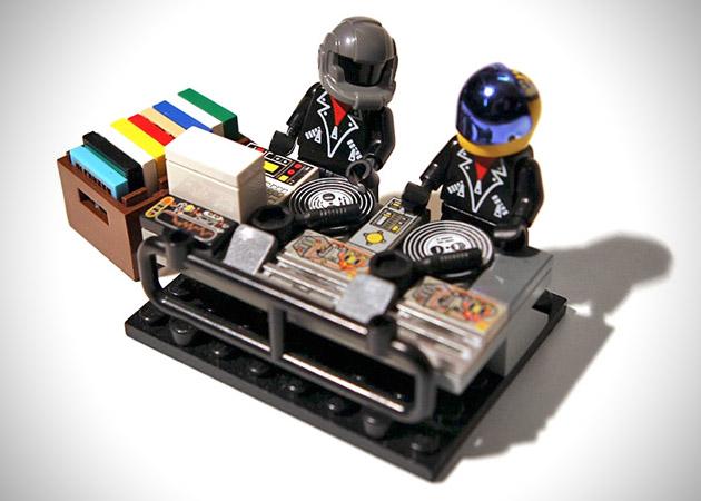 【小ネタ】LEGOで作ったDaft Punk(ダフト・パンク)が超カッコイイ!