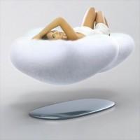 リアル筋斗雲だ!フワフワと浮かぶ雲型ソファー「Cloud 」のコンセプトが面白い!