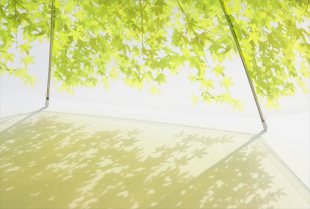 これは素敵!木漏れ日の中にいるような気分になれる傘「 Komorebi Umbrella」