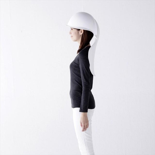 この発想はなかった!災害時に防災用ヘルメットになる椅子「mamoris」