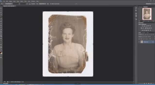 【動画】古い白黒写真をどんどん修正して最終的にカラー写真にする動画が凄い!