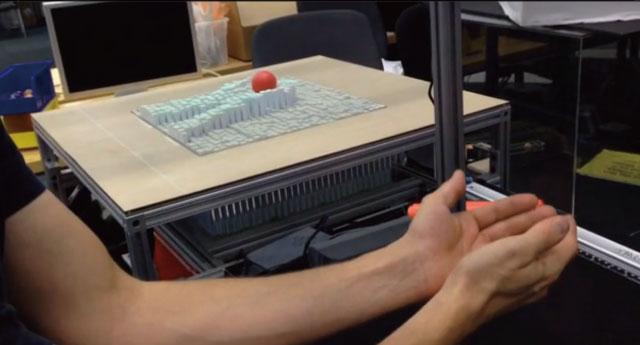 3D情報を読み取って変形する「インタラクティブモーフィングテーブル」が凄い!