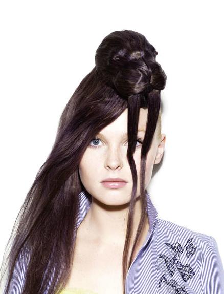 故・野田凪作-髪の毛を使って作られた超リアルな動物の帽子「hair hat」