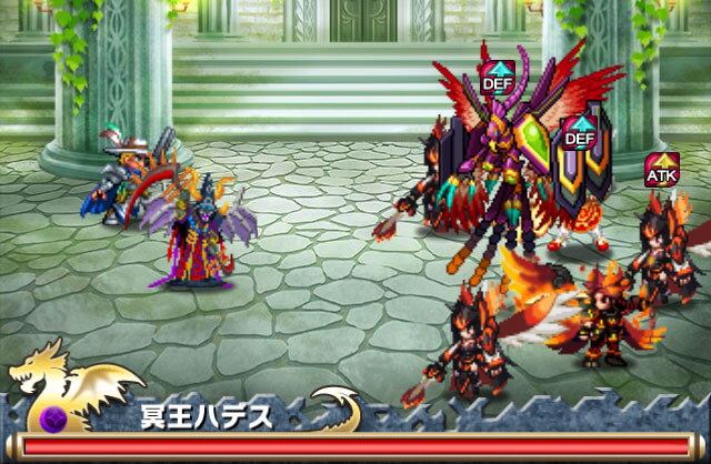【ブレイブフロンティア攻略】「ラメリア神殿」出現ユニット&ボス