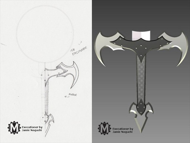 【攻撃力+15】取っ手が剣のようになっているフライパン「Combat Kitchenware」