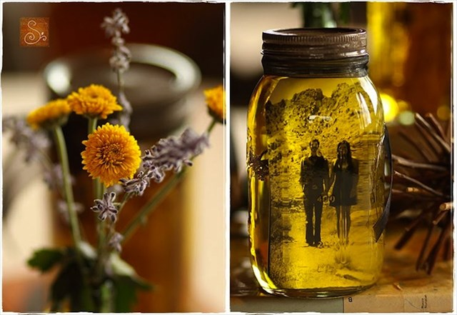 【DIY】オリーブオイルと小瓶を使って超お洒落に写真を飾る方法