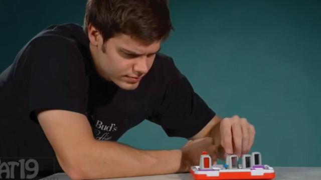 これはやってみたい!レーザーを反射させて繋げるパズル「Laser Maze Logic Game」