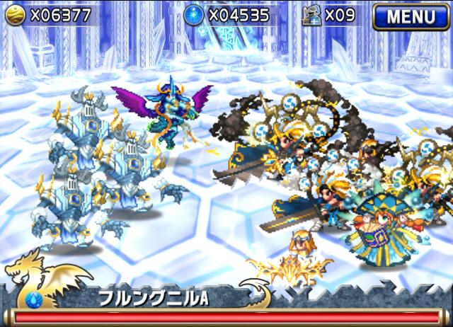 【ブレイブフロンティア攻略】「オブセリアン城」出現ユニット(敵)&ボス