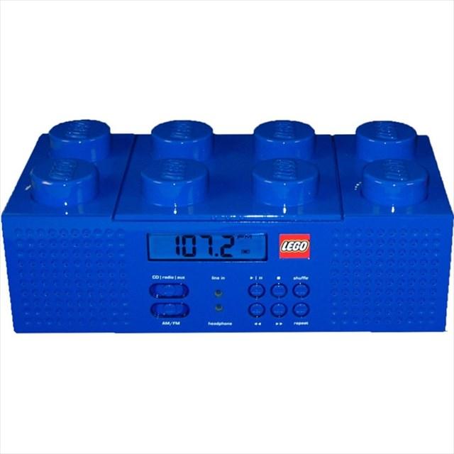 超でっかいLEGOブロック型のCDプレイヤー「LEGO Brick Boombox」