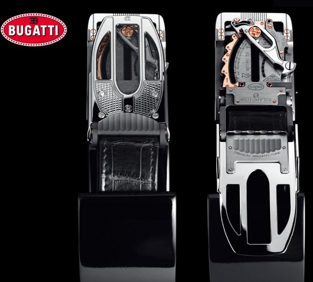 伝説のスポーツカーメーカー「ブガッティ」の超精密ベルトバックル、値段はなんと878万円w