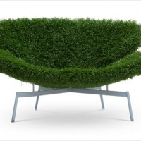 芝生に腰掛けているような気分になれるソファー by SOLV