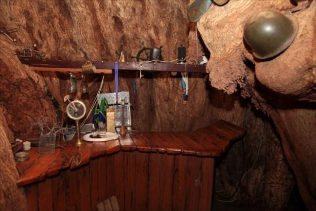 樹齢6000年のバオバブの木の幹の中で営業するBARが素敵すぎる!