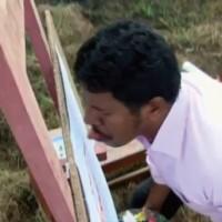 【動画】舌で絵を描くインド人アーティスト「Ani K」が凄いw