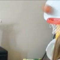 【動画】将来はNBAプレイヤー間違いなし!?バスケのシュートが上手すぎる赤ちゃん