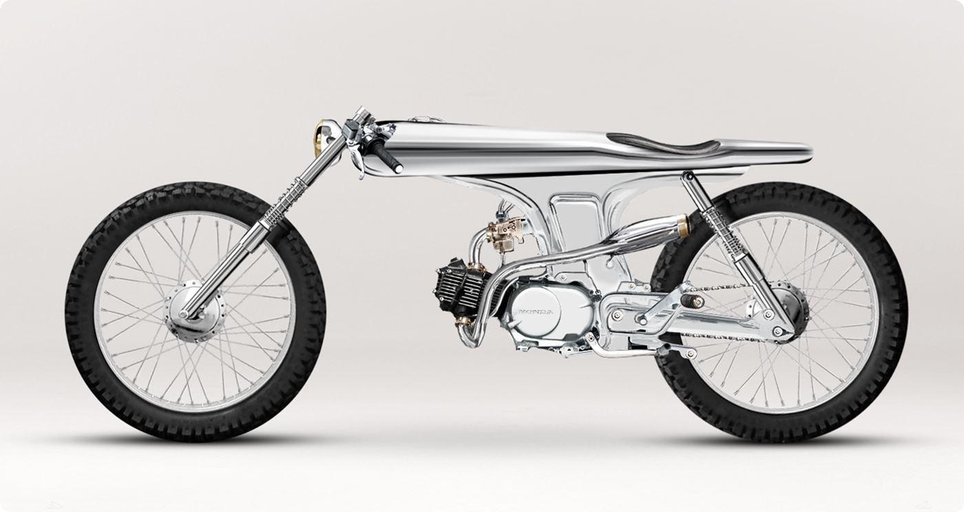 美しすぎるバイク「EVE」by Ban