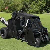 超カッコイイ!バットモービル型のゴルフカート「Batmobile Tumbler Golf Cart」【動画あり】