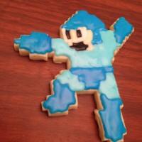 ロックマン型のクッキーが作れるクッキーカッター「Megaman Shaped Cookie Cutter」