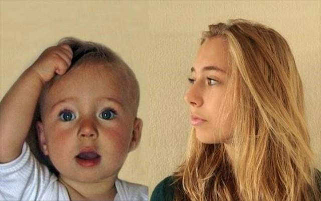 4分間である少女の0歳から14歳までの成長を振り返るタイムラプス動画