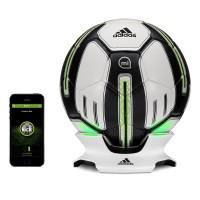 インパクト時のパワーや弾道、スピード、スピンなどを解析できるサッカーボール@adidas