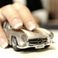 メルセデスベンツ型のワイヤレスマウス「Mercedes Benz Wireless Mouse」