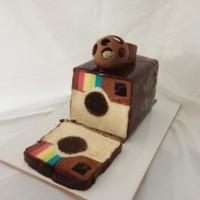 【動画】可愛い!Instagram、Twitter、Facebookなどのアイコン型のケーキを作る方法