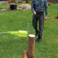 ロシアで発明された超気持ちいいペットボトルのリサイクルマシーン「BUTYLKOREZ」が話題