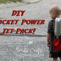 【DIY】ペットボトルを使って子供用の可愛いロケットジェットパックを作る方法