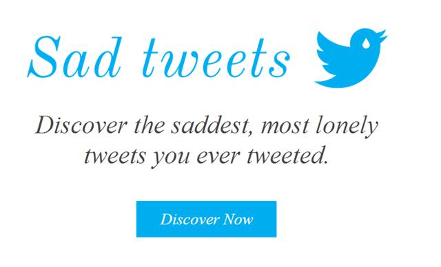 誰からも反応がなかった悲しいツイートを検索してくれるサービス「Sad Tweets」
