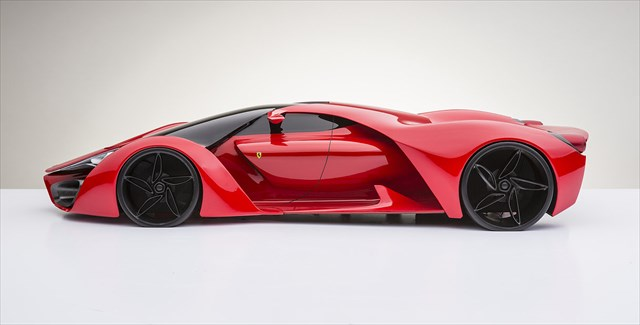 イタリア人デザイナーの考えたフェラーリF80のコンセプトが美しすぎると話題