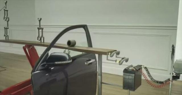 これはお見事!全て車の部品で作られたピタゴラ装置 -Honda Accord CM