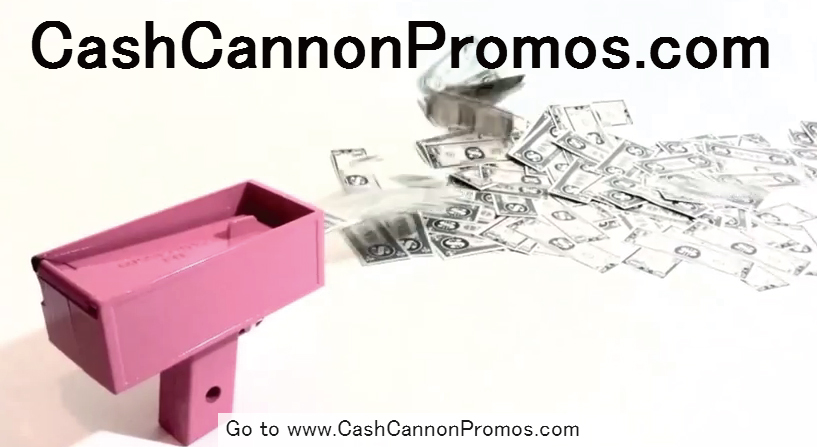 一度は撃ってみたい!お札をばら撒く為に開発された銃「The Cash Cannon」が凄いw